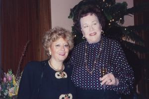 Donna Franca and Julia Child